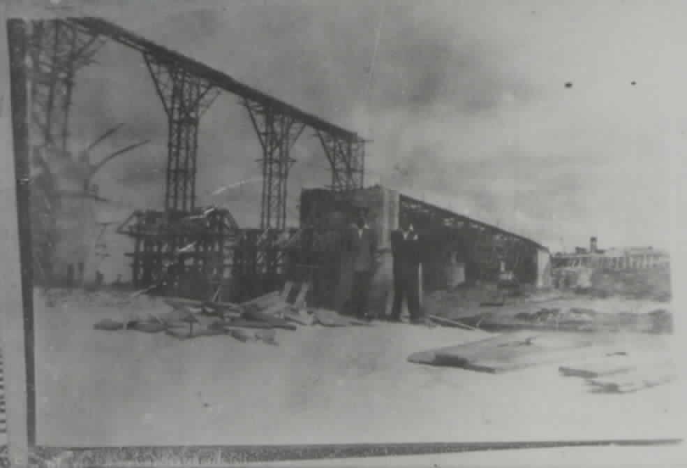 Construção da Ponte General Osório