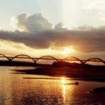 Pôr-do-sol Rio Ibicui