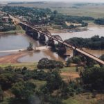 Vista aérea Ponte General Osório