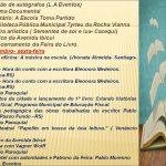Programação da 2° Feira do Livro de Manoel Viana