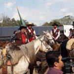 Chegada da Chama Crioula em Manoel Viana
